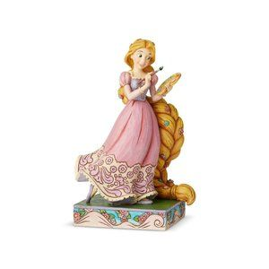 "Jim Shore | Disney Rapunzel ""Adventurous Artist"""